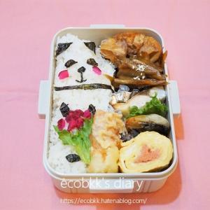 久しぶりのパンダ弁当/My Homemade Boxed Lunch/ข้าวกล่องเบนโตะที่ทำเอง