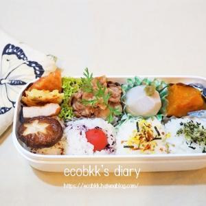 お弁当の記録(2日分)/My Homemade Boxed Lunch/ข้าวกล่องเบนโตะที่ทำเอง