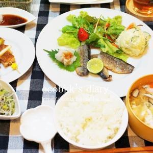 【和食】おうちごはんの記録(3日分)/My Homemade Japanese Dinner/อาหารมื้อดึกที่ทำเอง