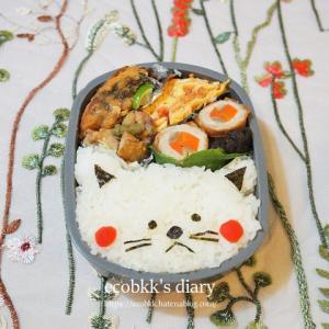猫弁当/My Homemade Cat Lunchbox/ข้าวกล่องเบนโตะที่ทำเอง