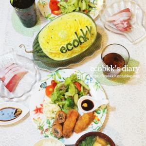 【和食】おうちごはんづくりの記録(5日分の記録)/My Homemade Japanese Dinner/อาหารมื้อดึกที่ทำเอง