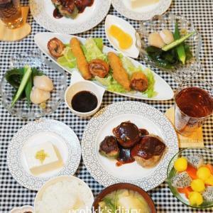 【和食】おうちごはんづくり/My Homemade Japanese Dinner/อาหารมื้อดึกที่ทำเอง