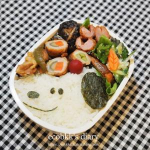 スヌーピー弁当(2日分の記録)/My Homemade Snoopy Lunchbox/ข้าวกล่องเบนโตะสนุปปี้ที่ทำเอง