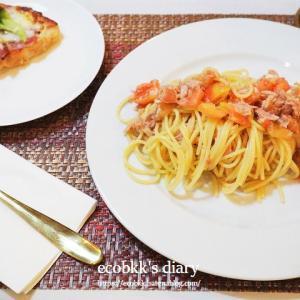 おうちランチのメニュー~パスタ作り7日分の記録/My Homemade Pasta Lunch/อาหารเที่ยงที่ทำเอง