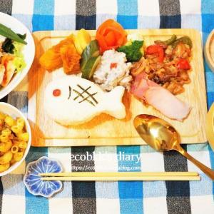 置き弁風ランチ/My Homemade Lunch/อาหารเที่ยงที่ทำเอง