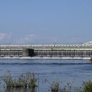 多摩川橋梁の小田急8000形