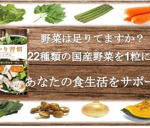 国産野菜を厳選配合した「プレミアム習慣」で内側から健康に!イキイキした毎日へ