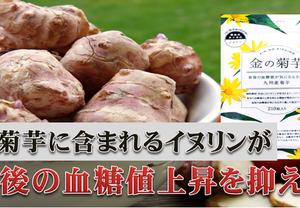 【機能性表示食品】九州産「金の菊芋」を飲んで健康な体づくりを目指す