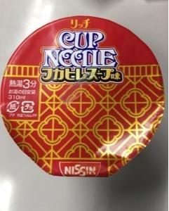 日清 カップヌードルリッチ フカヒレスープ味