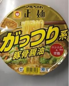 マルちゃん マルちゃん正麺 がっつり系豚骨醤油
