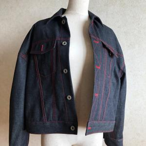 【Gジャン完成】かたやまゆうこさんの「コートを縫おう」をアレンジして作りました