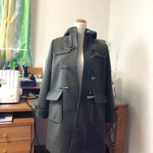 完成!「コートを縫おう」のダッフルコート。そして美肌を追い求めた一年を振り返る。