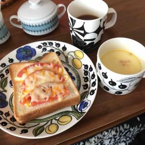 日常の普通〜な朝ごはん*楽天スーパーセール