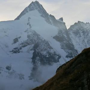 富士よりもやや高い山 Grossglockner(3798m)