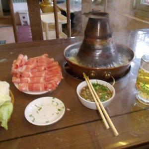 北京名物料理のひとつ≪涮羊肉≫shuanyangrou