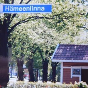 湖畔にある中世の城の街Hämeenlinna(ハメーンリンナ)