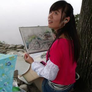你画的好吗(Nǐ huà de hǎo ma)? いい画描けたぁ?