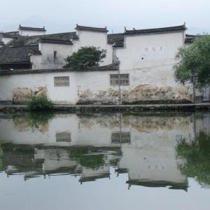 明清の古民家のこる宏村(Hongcun)よ