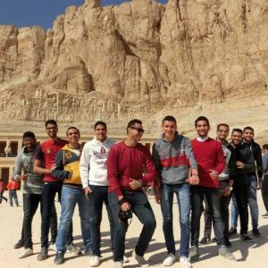 やあやあやあエジプト男勢揃い