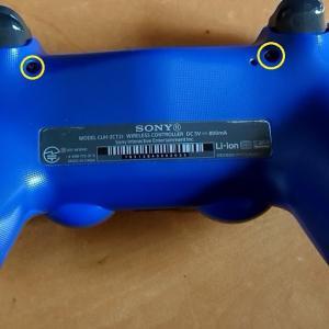 PS4コントローラーの分解と接点復活剤