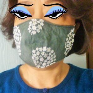 思い出話&マスク姿