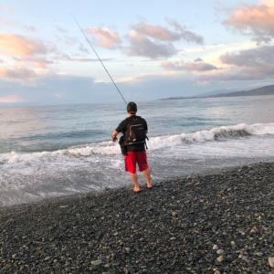 久々に魚釣り