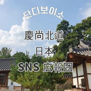 慶尚北道観光SNS広報サポーターに選ばれました♡