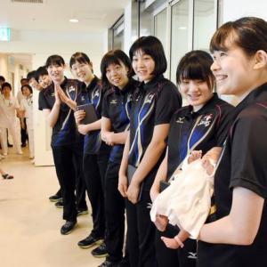 ◆久光選手が好生館訪問 子どもたちと笑顔で交流◆