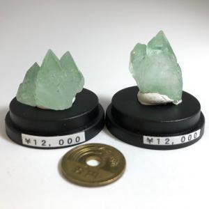 【2019年10月14日】原石 グリーンアポフィライト結晶