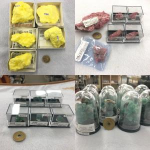 2020/10/06 硫黄、ロードナイト、ダイアナマリア蛍石