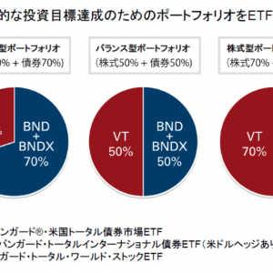 【ETF】バンガードの提案するバランス型ポートフォリオを振り返って【楽天・バンガード・ファンド】