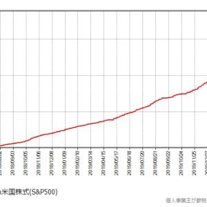 【祝】SBIバンガードS&P500 純資産額250億円突破!eMAXIS Slimも資金流入!日本の投資家も負けていません。