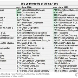【FANGMよりすごいIT企業】S&P500指数にとってFANGMの構成比率は問題か?