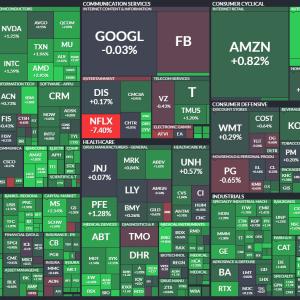 米国株式市場は3日ぶりに反発も、ネットフリックスは-7.40%。企業の今後のガイダンスにも注目しよう!