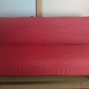母の宿泊用ソファーベッド