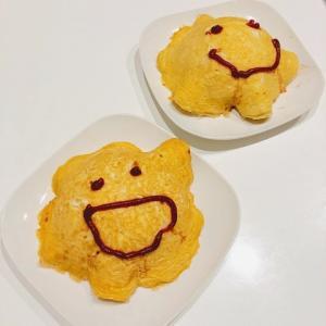砂糖の代わりにアレを使う!甘い卵の自家製オムライスレシピ。