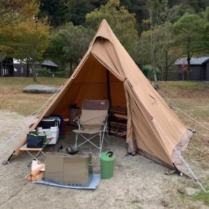 ようやく冬キャンプ!