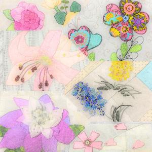 花のミニキルト