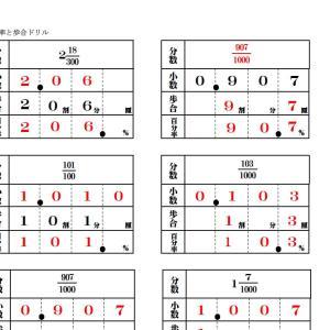 【中学受験学習相談】(3)a  百わりだけで計算力はつきますか?