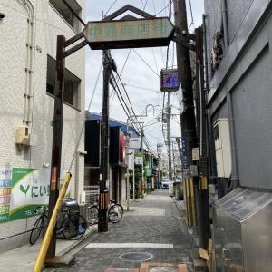 JR吹田駅前にある「中通商店街」