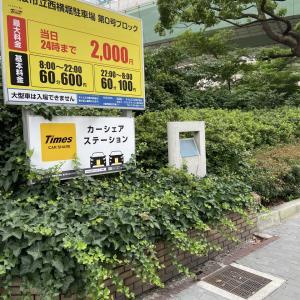 大阪市中央区北浜の旧町名継承碑「横堀一~七丁目」
