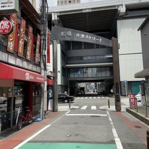 本町駅近くにある「丼池ストリート」
