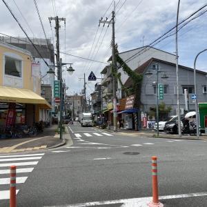 京阪・森小路駅前にある「新森商店会」
