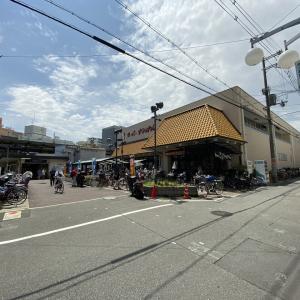 京阪・森小路駅前にある「森小路商店街」