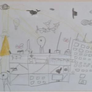 【発達凸凹美術館】ASD5歳児の絵の描き方を分析!1年経って何が変わったか?