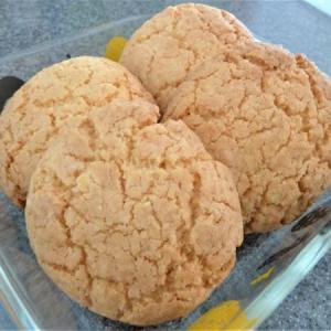 無印良品「国産米粉ミックス粉」でバター不使用スコーンを作ったらメロンパンクッキーに!