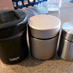 【アレルギー児の給食】代替弁当の容器は大中小で!サイズ違いのお弁当箱・スープジャー・フードジャーを組み合わせる