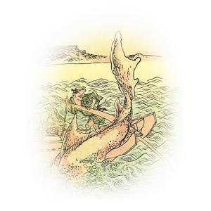 磯撫で(巨口鰐) ― 西日本近海に現れるサメのような怪魚 ―