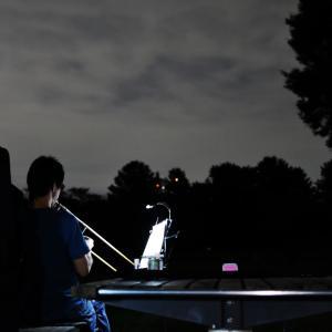 夜の公園(2019/10/13撮影)