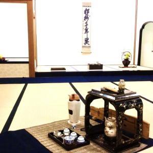 9月26日   「台風の特異日」・茶室について